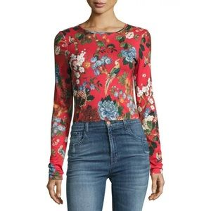 🎀SOLD🎀Alice + Olivia Delaina Chinoiserie Top